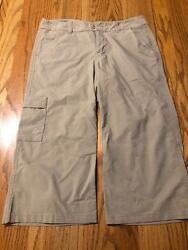 Stonewear Design Size 6 Cropped Pants Ideal For Hiking Rock Climbing 34 Length