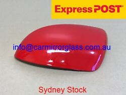 MIRROR HOUSE COVER CAP FOR RIGHT DRIVER SIDE MAZDA 2 2008 2014 RED