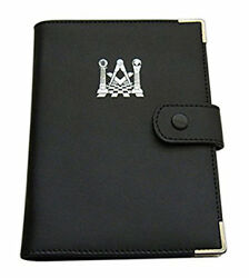 Masonic Soft Faux Leather Ritual Book Cover For You Pocket Size Book