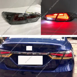 4pcs LED Rear Tail Lights Brake Turn signal Lamps For Toayota Camry 2018 2019