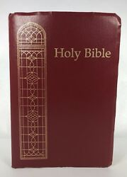 Holy Bible King James Version Giant Print Words Of Christ In Red
