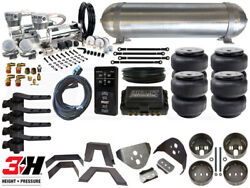 Complete Air Suspension Kit - 1982-2003 Chevrolet S10 - Level 4 W/air Lift 3h