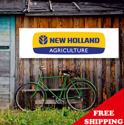 New Holland Agriculture Banner Vinyl Or Canvas Advertising Garage Sing Many Size
