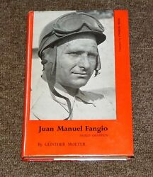 World Champion Juan Manuel Fangio Autograph Signed GUNTHER MOLTER Barry Lake