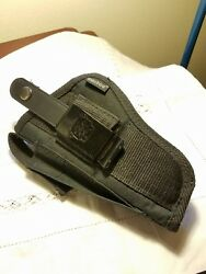 Bulldog Extreme Size 8 Pistol Holster! VERY Gently Used! Belt Loop