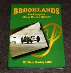 Brooklands The Complete Motor Racing History By William B. Boddy Barry Lake
