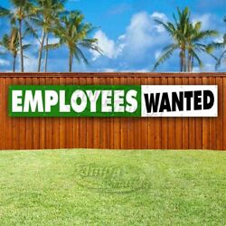Employees Wanted Advertising Vinyl Banner Flag Sign Large Huge Xxl