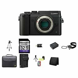 Panasonic Lumix DMC-GX8 Mirrorless Micro Four Thirds Digital Camera (Black)...