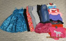 Girls Size 10 And 10/12 Clothes, Back To School Tops, Jeans, Dresses, Lot