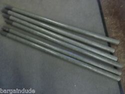 4' FOOT FIBERGLASS ANTENNA TOWER MAST SECTIONS POLE POLES USED VERY GOOD 7 pc.
