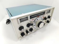 National HRO 500 Ham Radio Receiver in Clean Working Condition SN 102-570