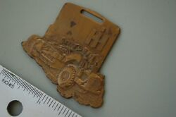 Ih International Pan Tractor Scraper Vintage Watch Fob Heavy Equipment Dow And Co