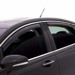 In Channel Rain Guards - Avs Smoked Window Visors For Chevy Hhr 2006-2011