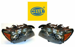 New Bmw Pair Set Of Left And Right Xenon Headlights Hella
