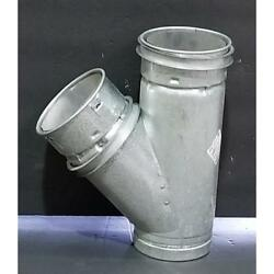 Hart And Cooley 4ryf44/150431 4 X 4 X 4 Type B Gas Vent Wye Pipe 191412