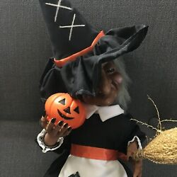 Telco Halloween Illuminated Witch Motionette 18 Animated Figure Sound