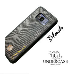 For Galaxy  S10 Plus S10E UC Black Editio Leather Cell Phone Back Cover Case