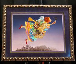 The Responsible Woman By James Christensen Framed Signed Lithograph 1721/2500