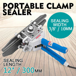 FKR-300 Portable Hand Clamp Sealer 12in300mm Heating Temperature Control GOOD