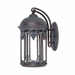World Imports Dark Sky 9 In. Old Bronze Outdoor Wall Sconce 9713-19