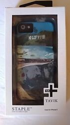 Tavik brand Hollywood Sign Iphone 5 phone Case Staple New in Package $19.99