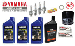 Yamaha F50 T50 F60 T60 Outboard Maintenance Oil Change Kit Gear Lube Spark Plugs
