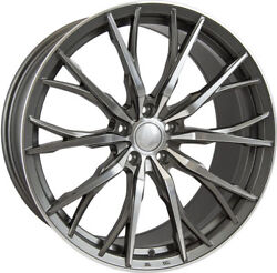 Alloy Wheels X 4 8.5 20 Gmf Hub V1f For Mercedes C E Class Clc Sl Slk W171 M12