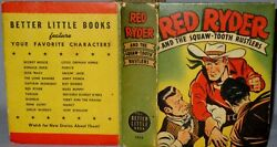 Vintage Better Little Book Red Ryder And The Squaw-tooth Rustlers 1414 Whitman