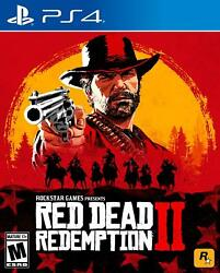Brand New Sealed Red Dead Redemption 2 Ii Game - For Sony Playstation 4 Ps4