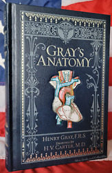 New Sealed Gray's Anatomy By H. Gray, T. Pickering, R. Howden Bonded Leather
