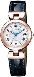2018 NEW Citizen Watch EXCEED Titania Line Happy Flight Series ES9424-06A Womens
