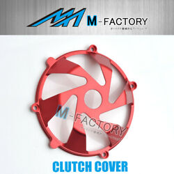 Red Billet Dry Clutch Cover Ducati Monster S4rs 1000 Ie 620 750 Cc15