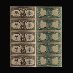 10pcs 1899 Usd 5 Dollar Gold Banknote Note Plated Us Banknotes Bill Money
