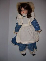 Vintage Schmid Musical Collectible 560-013 Tomorrow Porcelain Doll 18 Tall