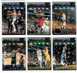 2018 19 Hoops Holiday Winter Snowflake Lights Camera Action U Pick Lebron Curry