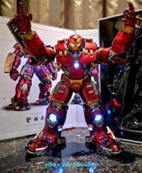 1/12 Iron Man Mk44 Action Figure Lighting Alloy Comicave Studio Collectible Toys