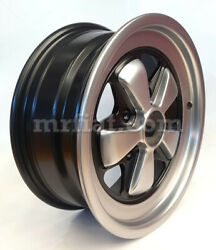 For Porsche 911 Wheel 6x15 Reproduction Fuchs Flat Made In Italy