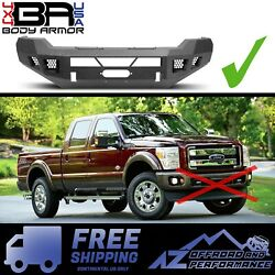 Body Armor 4x4 Eco Series Front Winch Bumper Fits 11-16 Ford F-250/350 Superduty