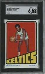 1972 Topps 131 Don Chaney 9 Card Progressive Proof. 24a
