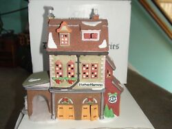 Dept 56 Dickens Village Hather Harness Lighted House With Original Packaging
