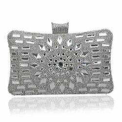 Women Acrylic Material Evening Chain Strap Clutch Evening Party Shoulder Bag
