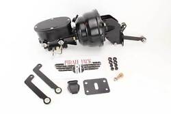Mopar B And E Body 8 Dual Black Out Oval Master Cylinder And Prop Valve Kit