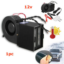 NEW DC 12V 300500W Electrical Car Fan Heater Window Defroster Demister Set