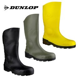 Dunlop DEVON 34 H142 Full Safety S5 Mens Wellingtons Boots UK3-12 EU36-47