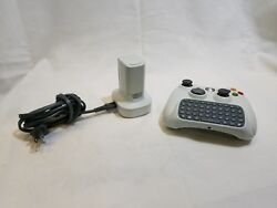 Xbox 360 Remote With Keypad Attachment And Battery Packs With Charger