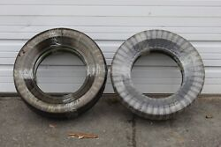4 Rare Nos Denman Wide White Wall 6.00-15 Tires In The Original Wrappings Dc-241