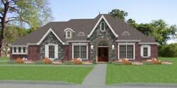 Custom House Home Build Plans French 3 Bed Study 2812sf --- Pdf File