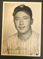 1940s Ny Yankees George Sternweiss 7x9 Photo Stadium Giveaway Gorgeous 92118