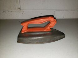 Vintage Wolverine Toy Iron With Plastic Handle