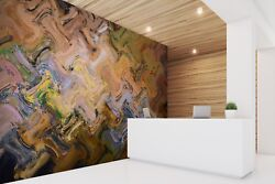 3d Abstract Palette 412 Texture Tiles Marble Wall Paper Decal Wallpaper Mural